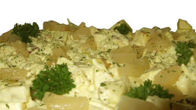 Ananas-kip salade