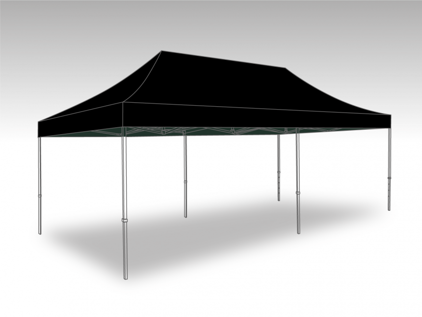 Partytent Easy Up 4x8 meter