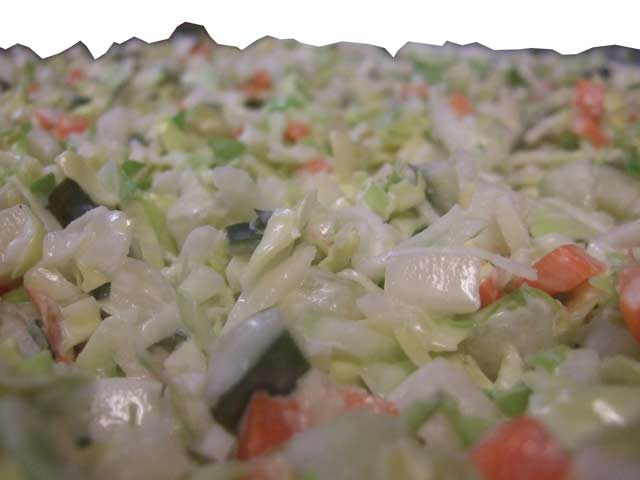 Groenteman salade