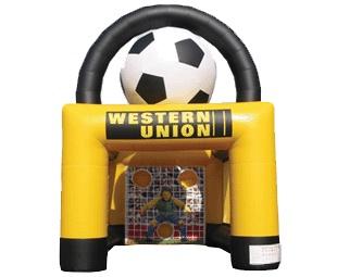 Opblaasbaar Voetbalspel