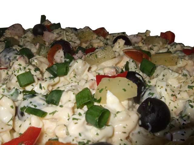 Pasta-salade (per 250 Gram)