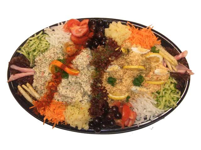 Salade half om half