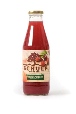 Schulp appel-cranberry 750ml
